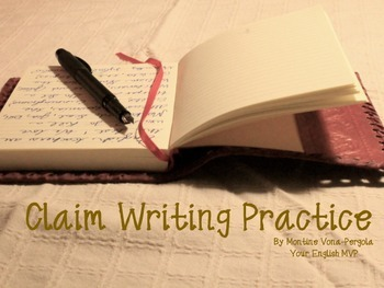 How to write a claim/thesis statement
