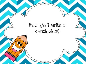 How to write a conclusion ( writing mini lesson)