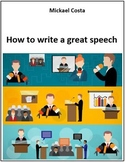 How to write a great speech (# 48)