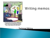 How to write a memo- powerpoint