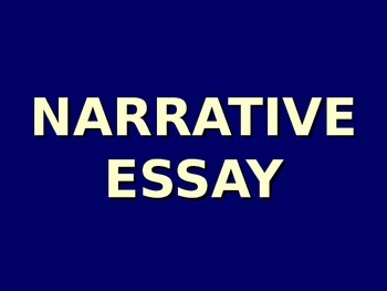 How to write a narrative essay