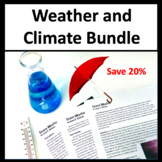 NGSS Bundle Weather and Climate for Middle School