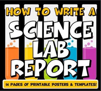 How to write a science lab report for middle school | TpT