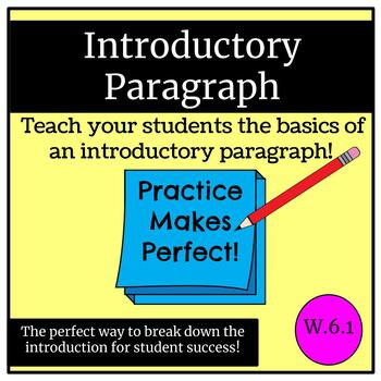 How to write the perfect introductory paragraph!