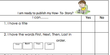 How-to writing checklist