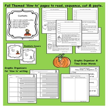 How to FALL writing, connect & order steps in a procedural text
