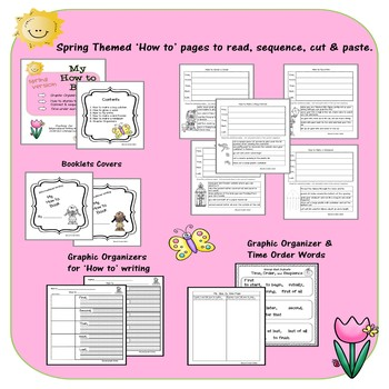 How to writing, connect & order steps in a procedural text Spring