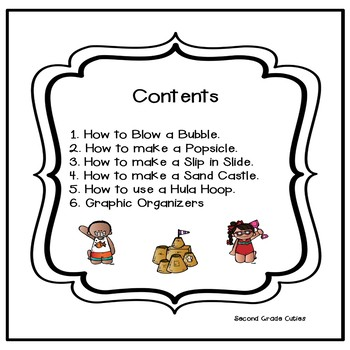 How to SUMMER writing, connect & order steps in a procedural text