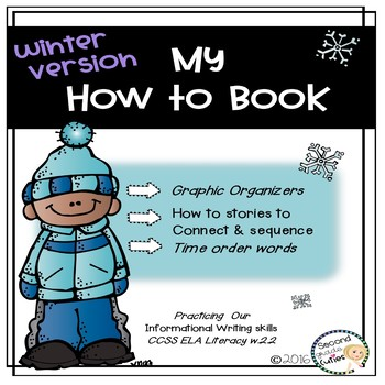 How to writing, connect & order steps in a procedural text Winter