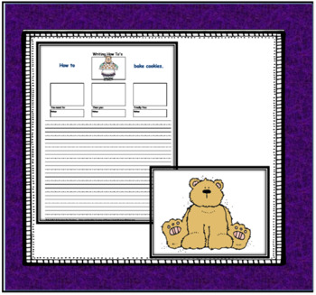 Informative Writing - Sequence Writing about How to Do Things