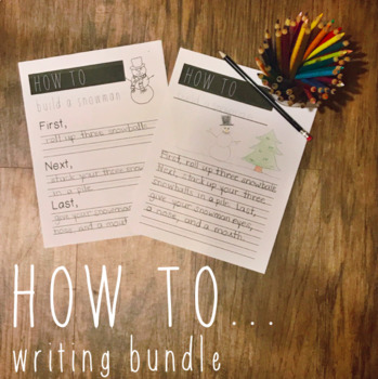 How to writing... print and go growing bundle!