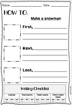 How to... writing unit +100 templates and Writing Checklist for students