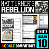 How was Nat Turner's Rebellion a turning point for race re