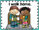 Free-How we go home Dismissal Clip Chart