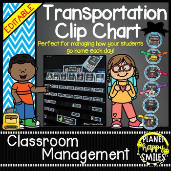How we go home ~ Transportation Bundle (Editable) ~ Aqua and Chalkboard theme