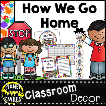 How we go home ~ Transportation Bundle (Editable) ~ Art Theme