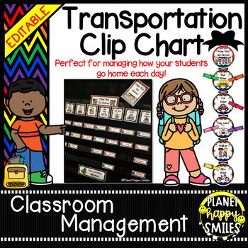 How we go home ~ Transportation Bundle (Editable) ~Rainbow Chevron w/ Black Bkgd
