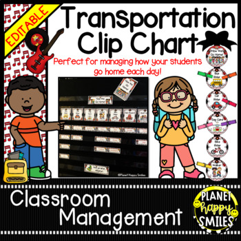 How we go home ~ Transportation Bundle (Editable) ~ Rock Star Theme
