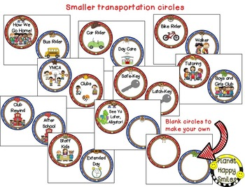 How we go home ~ Transportation Bundle (Editable) ~ Western Theme