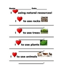 How we use natural resources everyday