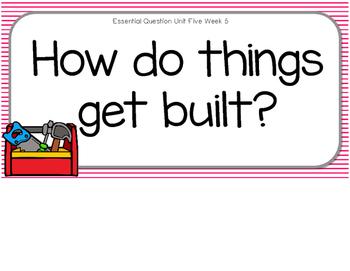 HowDo Things Get Built? Supplemental Activities for Wonders Unit 5 Week 5
