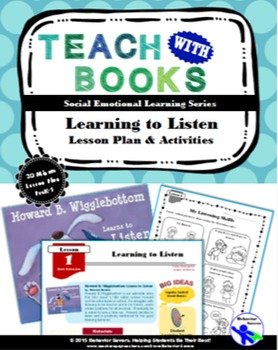 Freebie....Howard B. Wigglebottom-Learning to Listen PreK-1