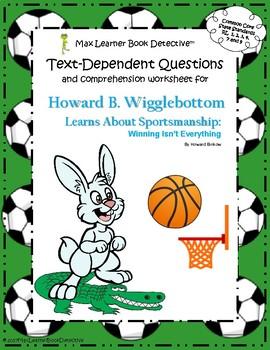 Howard B. Wigglebottom Learns About Sportsmanship: Text-De