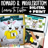 Howard B. Wigglebottom Learns to Listen Activities | Digital and Print