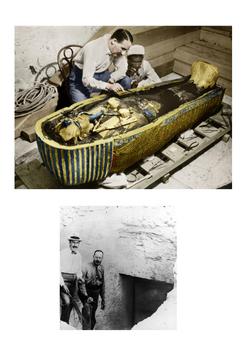 Howard Carter Tomb of Tutankhamun Word Search