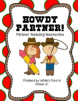 Howdy Partner {Partner Reading Resources}