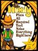 Howdy Partner Western Cowboy Theme Binder Covers (Editable Names)