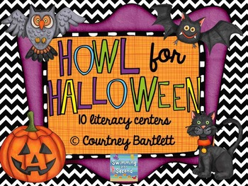 Howl for Halloween literacy centers