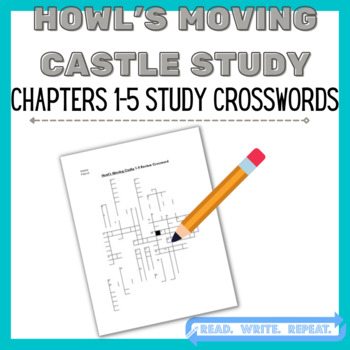 Howl's Moving Castle Study: Howl's Moving Castle Ch. 1-5 Study Guide Crossword