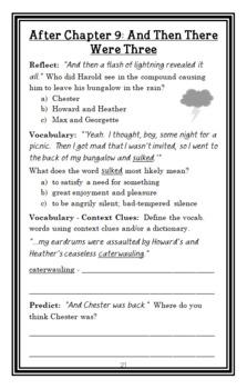 Howliday Inn (James Howe) Novel Study / Reading Comprehension Unit