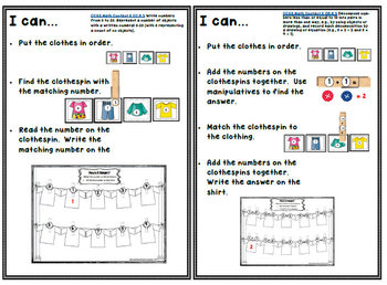 How's It Hanging? Clothing Themed Differentiated Math Centers