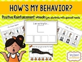 How's My Behavior? Visual Reward Charts for Students with