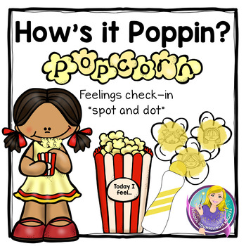 How's it Poppin'? Spot-and-Dot Feelings Check-in