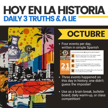 Hoy en la historia: OCTUBRE