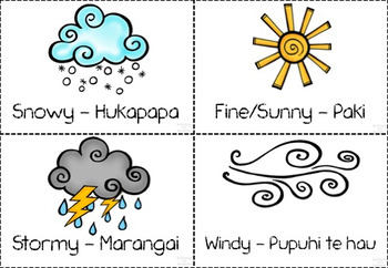 Huarere - Weather and Seasons - A New Zealand classroom resource