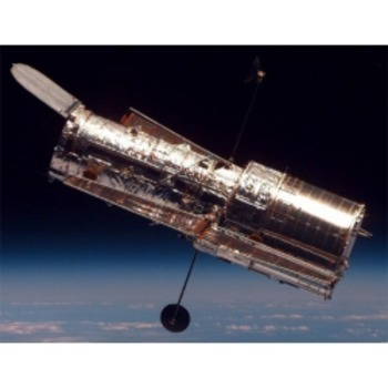 Hubble Space Telescope- Text and Exercise Sheets