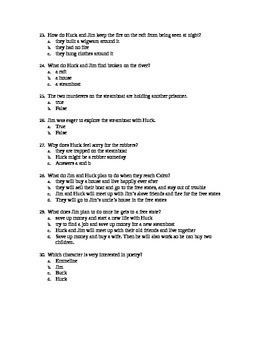 Huck Finn Big Ol' Test