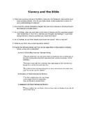 Huck Finn, Slavery, and the Bible