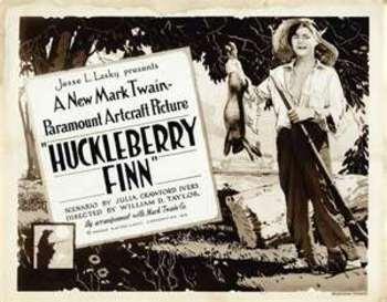 Huck Finn Student Fact Recorder Sheets