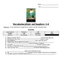 Huck Finn Vocab Quiz Ch. 1-4