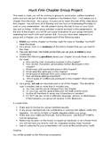 Huckleberry Finn Chapter Expert Reciprocal Teaching Group Project