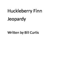 Huckleberry Finn Jeopardy