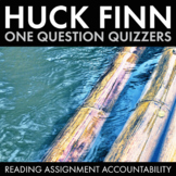 Huckleberry Finn Keep Teens Reading with Chapter-by-Chapter Quizzers