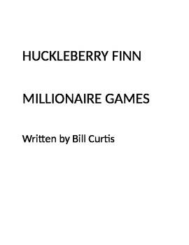 Huckleberry Finn Millionaire Games