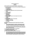 Huckleberry Finn Multiple-Choice Test (Honors/AP Level)