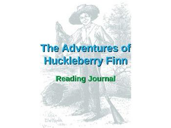 Huckleberry Finn - Reading Journal